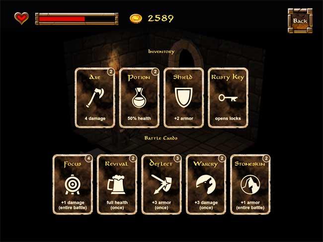 Dwarf Quest Battle Cards