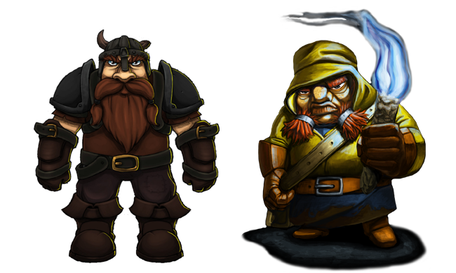 Both dwarfs