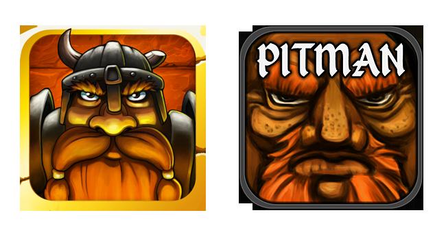 Dwarf Quest and Pitman Logo