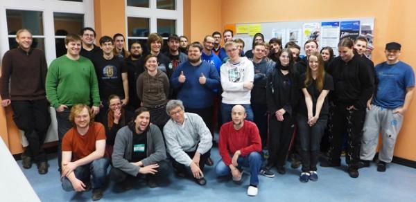 Die Teilnehmer des GGJ 2014 von Klaus Bastian