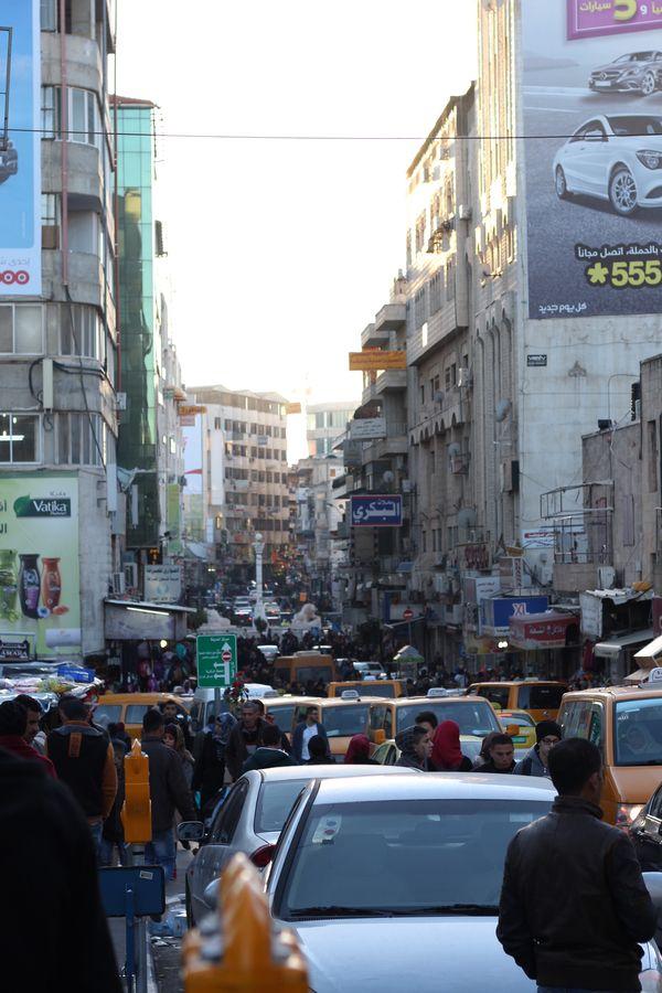 Ramallah crowded