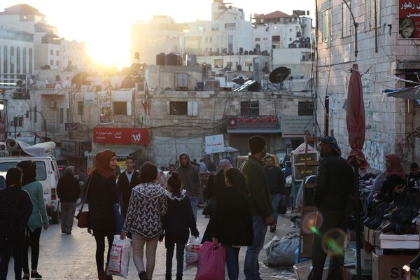 Ramallah market